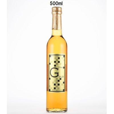 画像1: 長期熟成酒原酒G-OLD(金箔入) 500ml